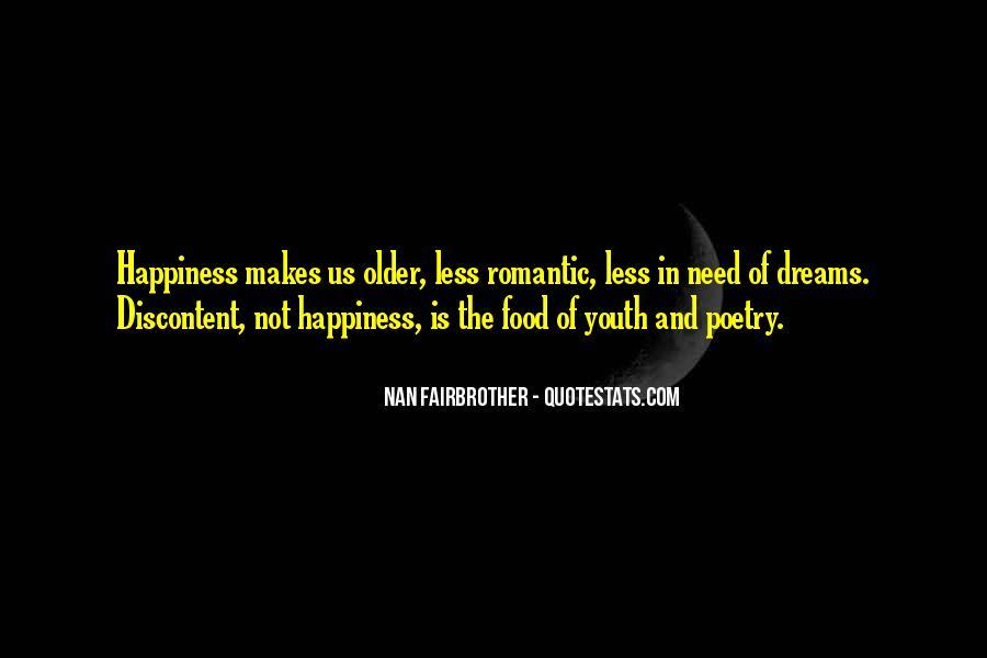 Romantic Food Quotes #1744617