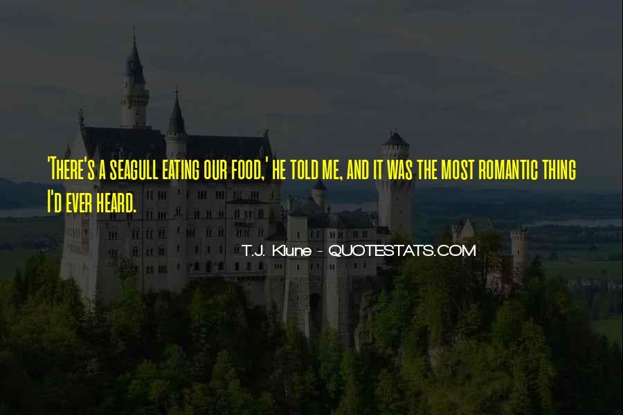 Romantic Food Quotes #725481