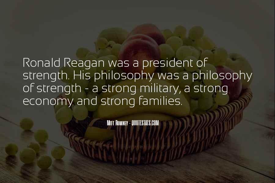 Ronald Reagan Economy Quotes #1064380