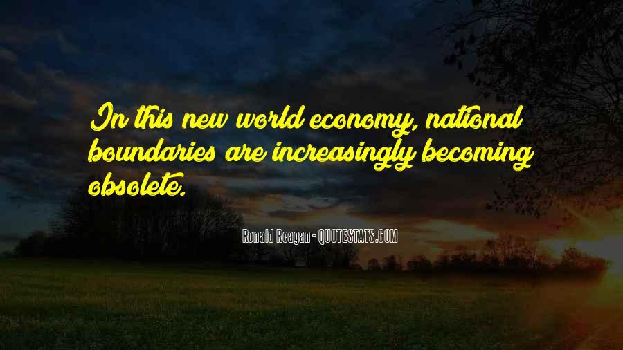 Ronald Reagan Economy Quotes #1288357