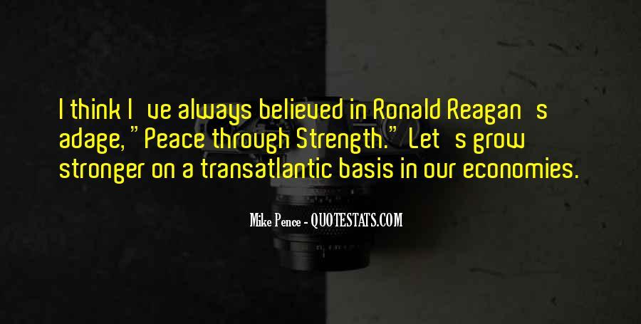 Ronald Reagan Economy Quotes #1427851