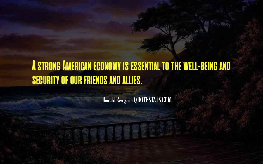 Ronald Reagan Economy Quotes #1662709
