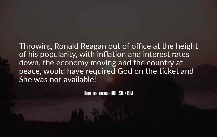 Ronald Reagan Economy Quotes #317536