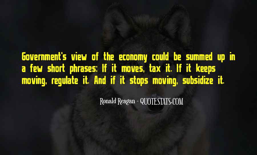 Ronald Reagan Economy Quotes #57909