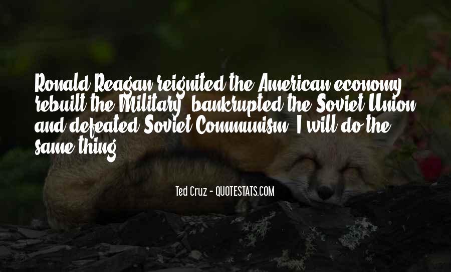 Ronald Reagan Economy Quotes #691622