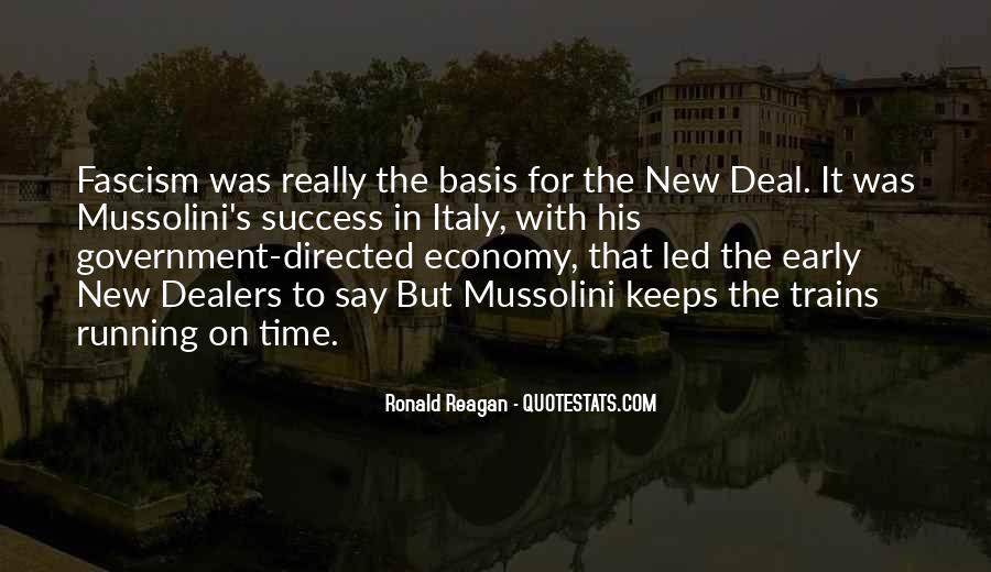 Ronald Reagan Economy Quotes #724794
