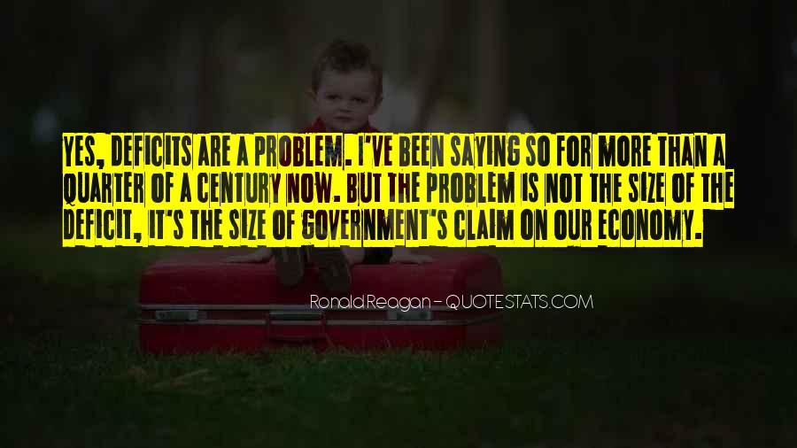 Ronald Reagan Economy Quotes #753131