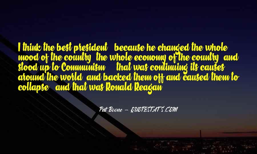 Ronald Reagan Economy Quotes #998375