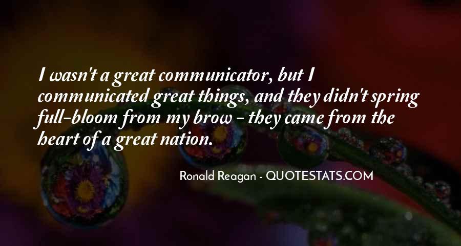Ronald Reagan Great Quotes #1356819