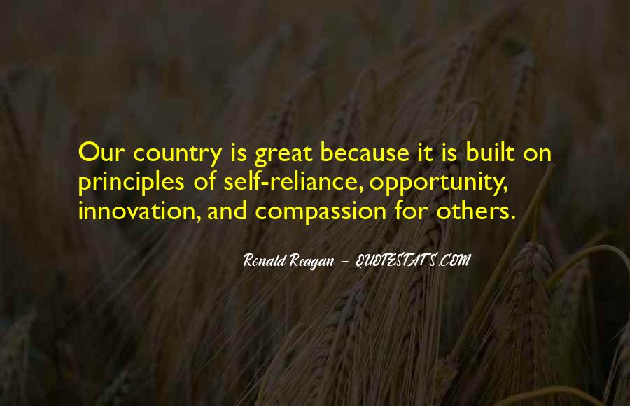 Ronald Reagan Great Quotes #1682080