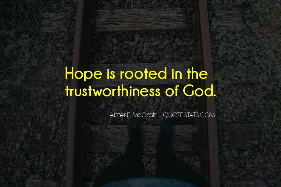 Rooted In God Quotes #1457800
