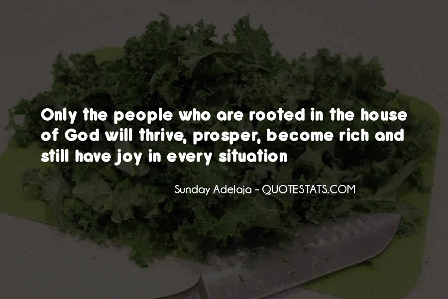 Rooted In God Quotes #1585369