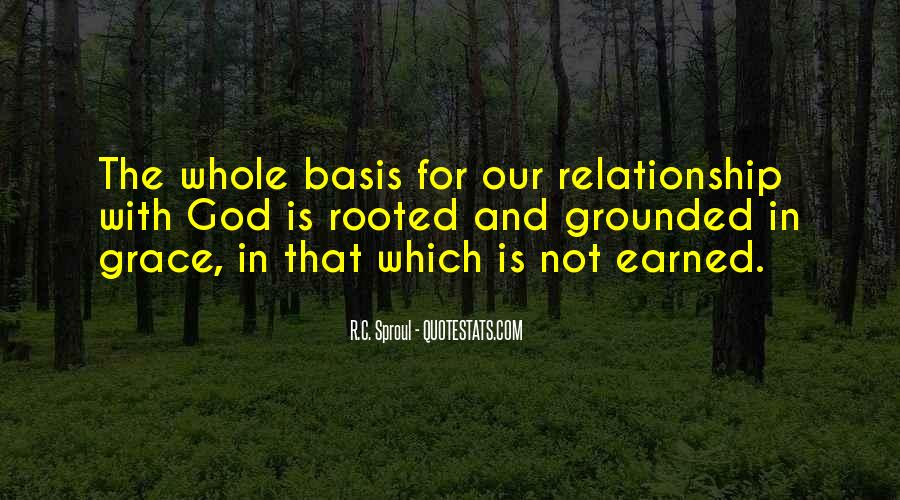 Rooted In God Quotes #1599692