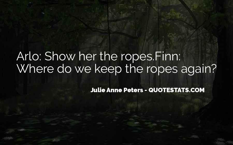 Ropes Course Quotes #60299