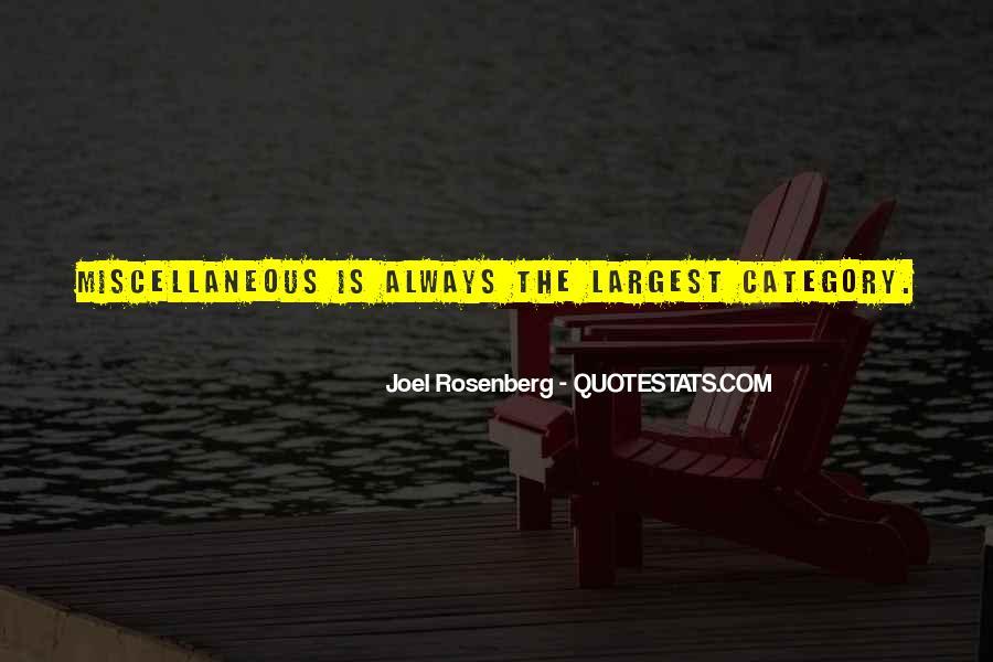 Rosenberg Quotes #142984