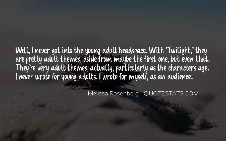 Rosenberg Quotes #260409