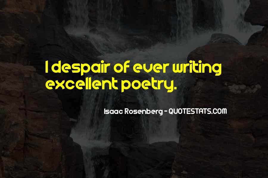 Rosenberg Quotes #314320