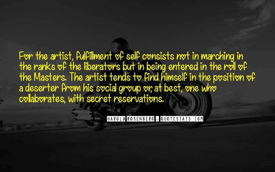 Rosenberg Quotes #350772