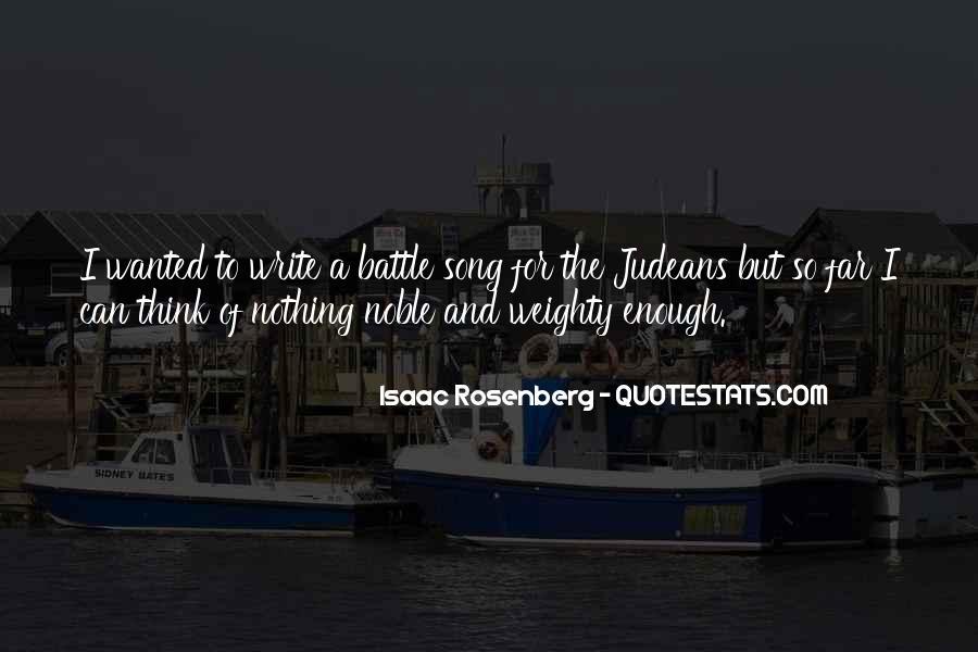 Rosenberg Quotes #56993