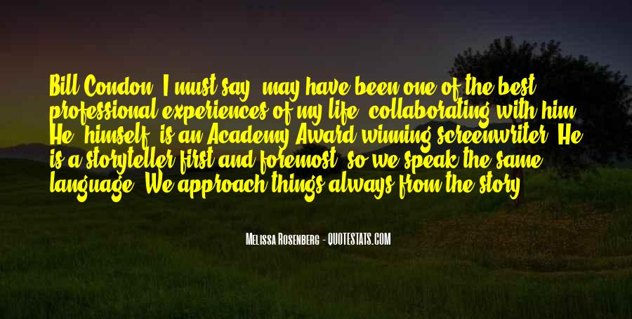 Rosenberg Quotes #80554