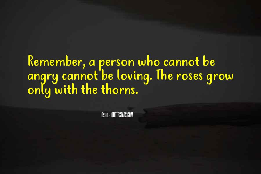 Roses Without Thorns Quotes #10157