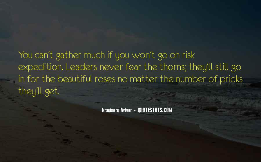 Roses Without Thorns Quotes #55833