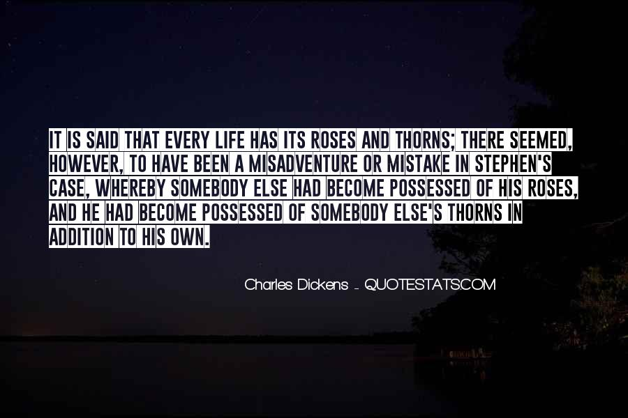 Roses Without Thorns Quotes #90756
