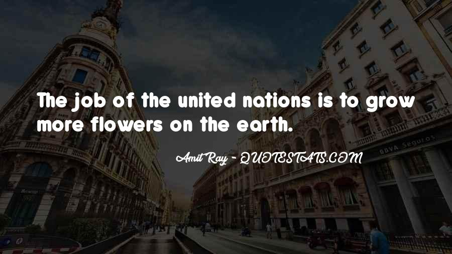 Quotes About United Nations #133992