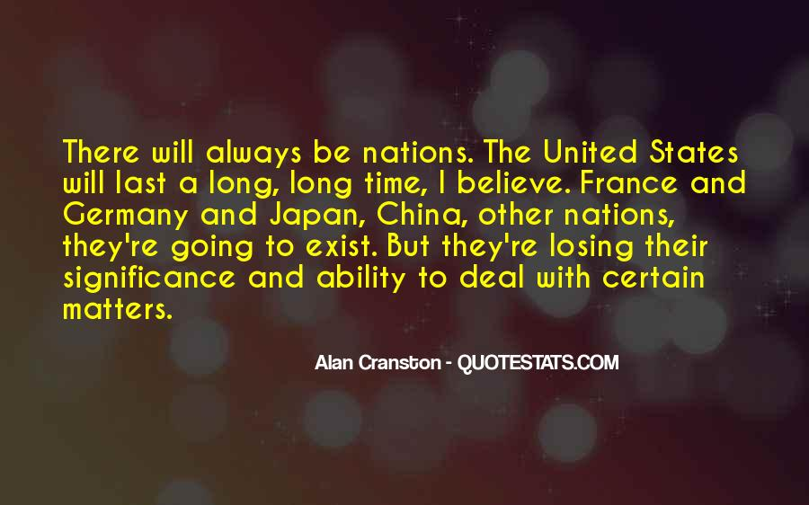 Quotes About United Nations #181691