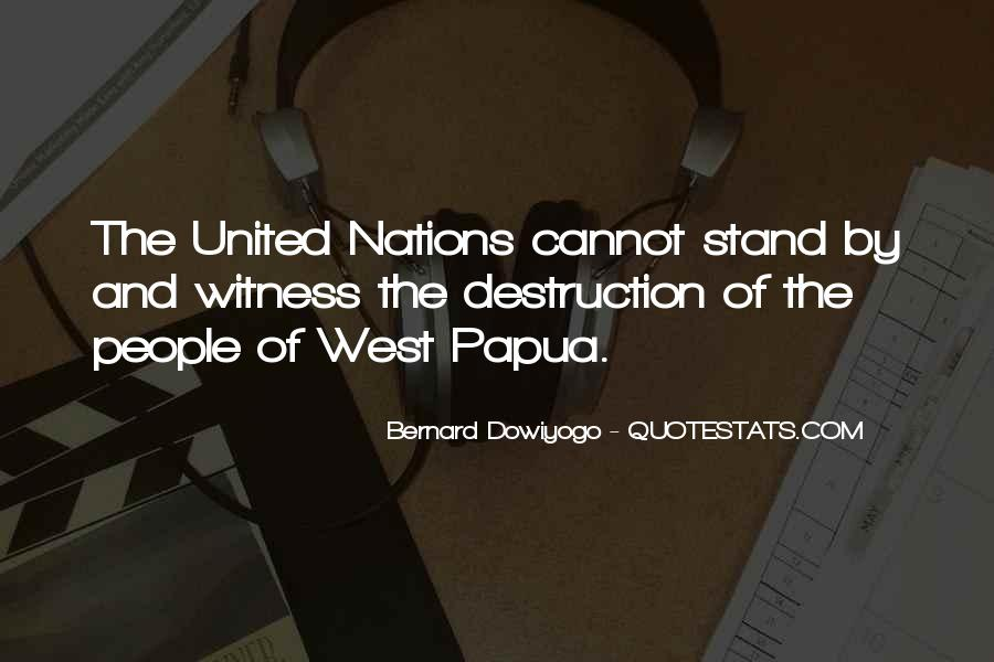 Quotes About United Nations #194980