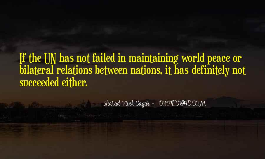 Quotes About United Nations #196051