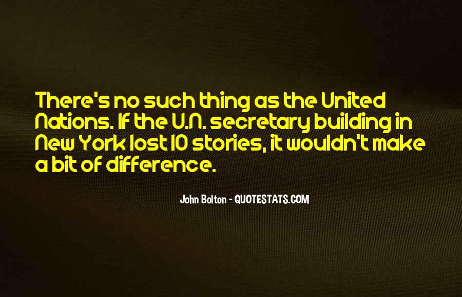 Quotes About United Nations #200719