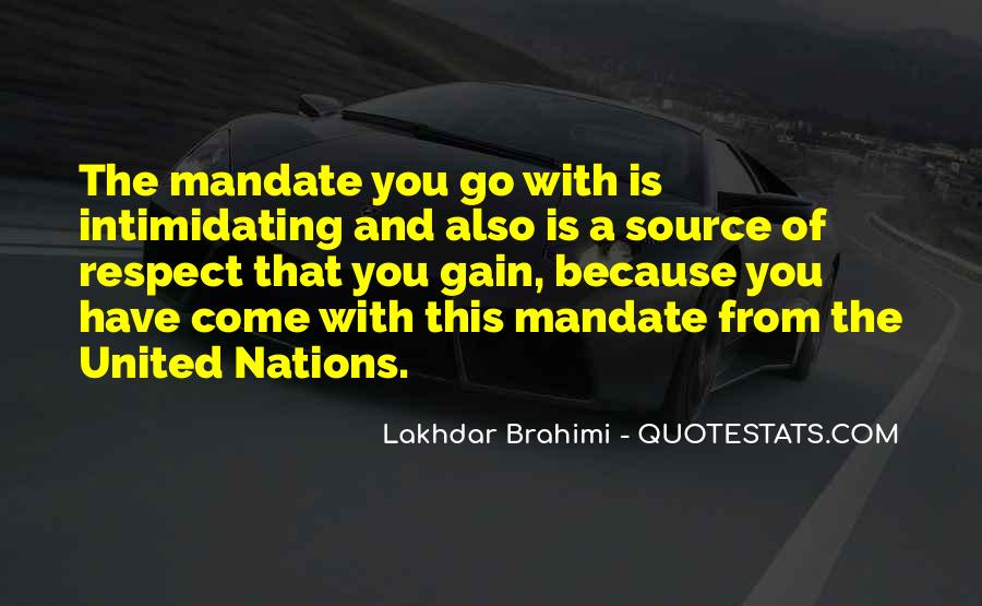 Quotes About United Nations #243127