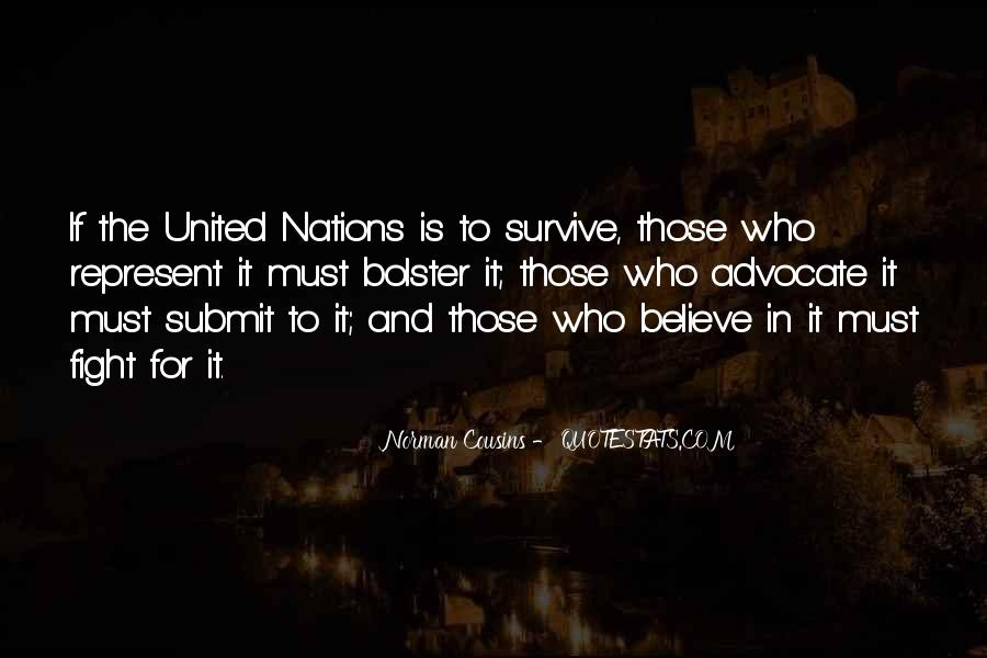 Quotes About United Nations #268110