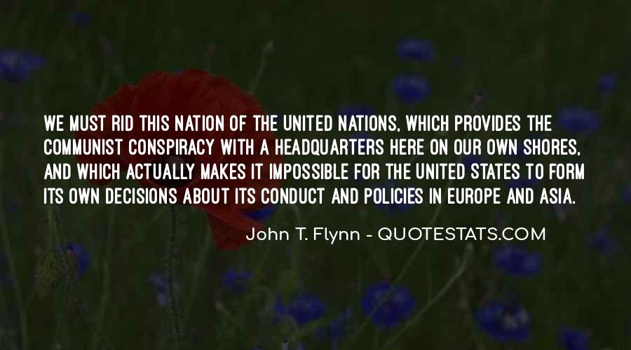 Quotes About United Nations #317726