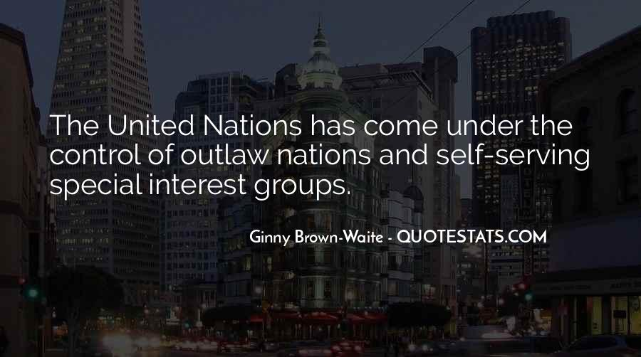 Quotes About United Nations #335520