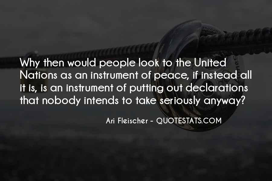 Quotes About United Nations #423332