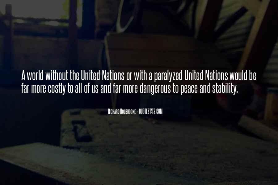 Quotes About United Nations #474752