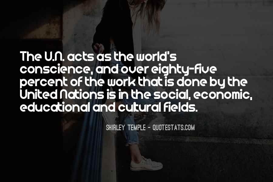 Quotes About United Nations #69782