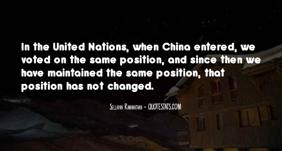 Quotes About United Nations #89474
