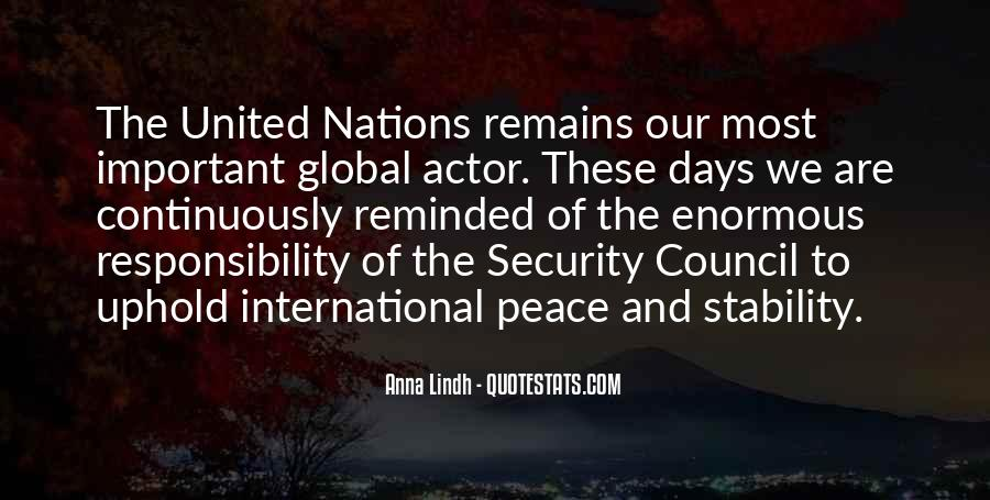 Quotes About United Nations #94230