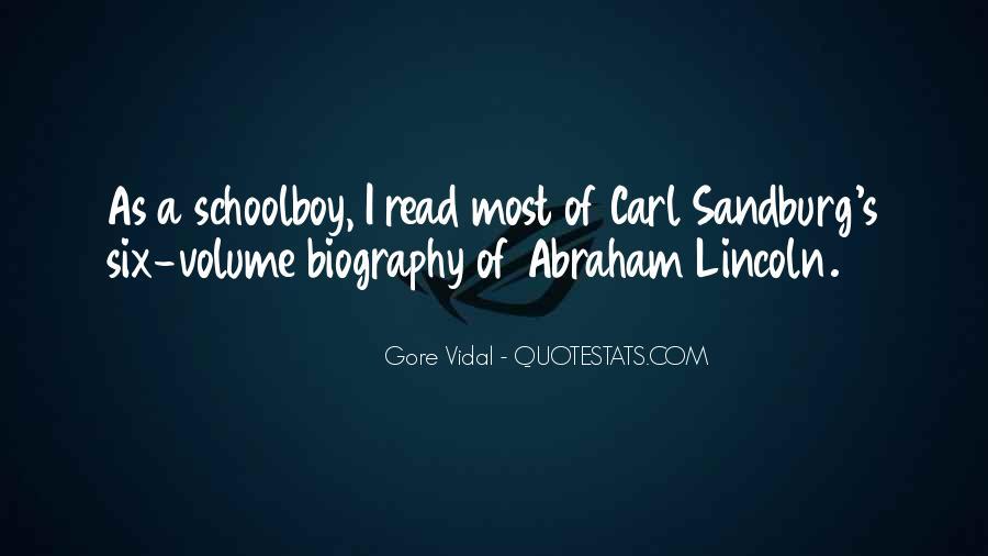 Quotes About Carl Sandburg #166876
