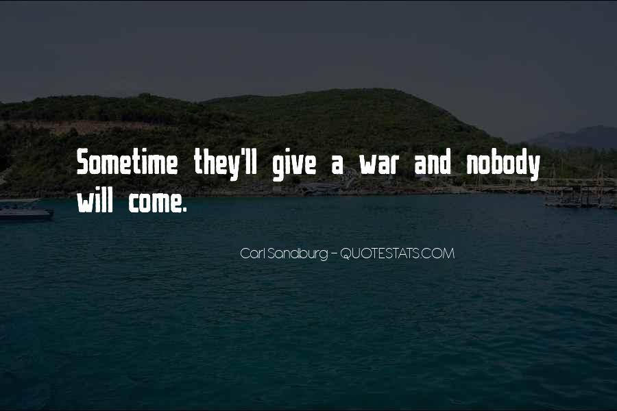 Quotes About Carl Sandburg #217166