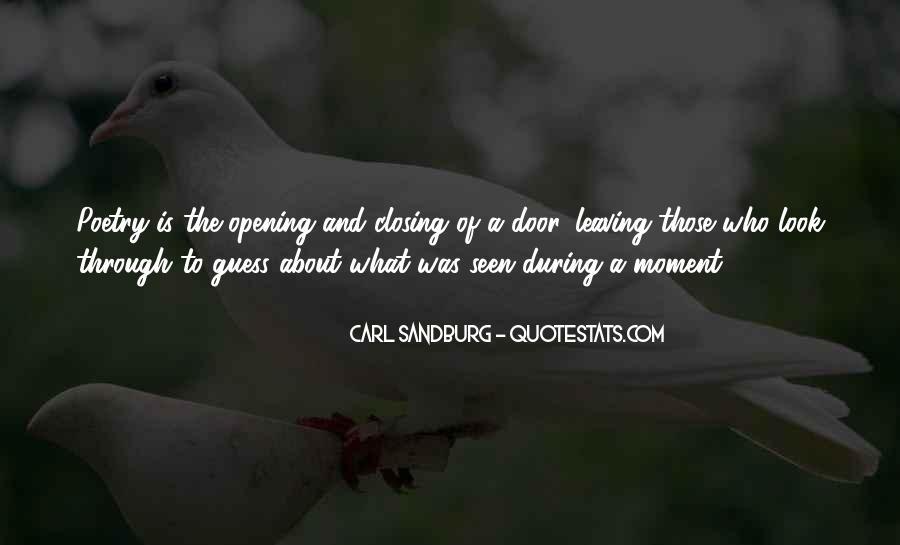 Quotes About Carl Sandburg #267346