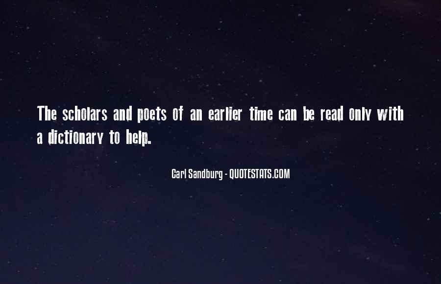 Quotes About Carl Sandburg #299514