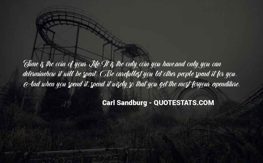 Quotes About Carl Sandburg #300670