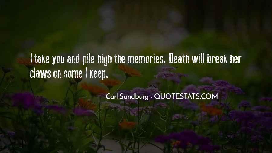 Quotes About Carl Sandburg #305362