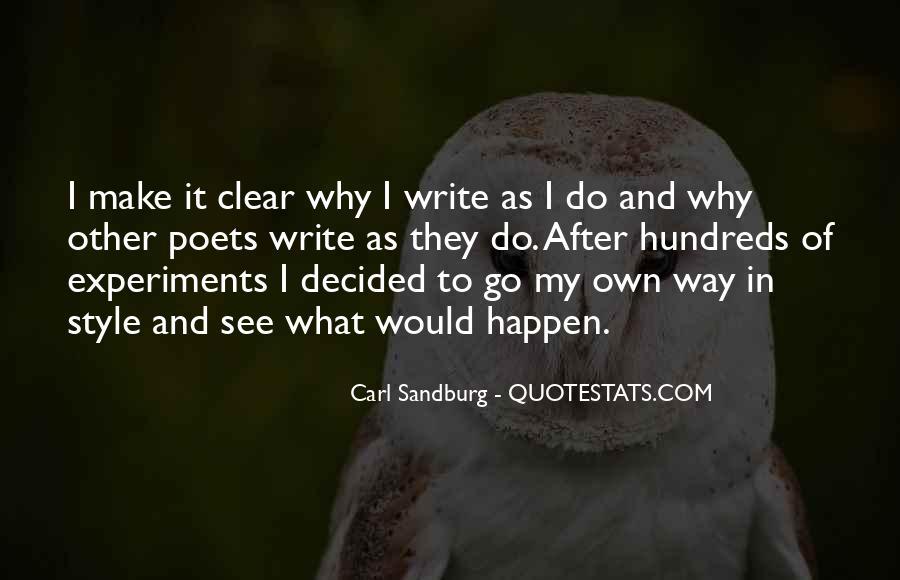 Quotes About Carl Sandburg #341472