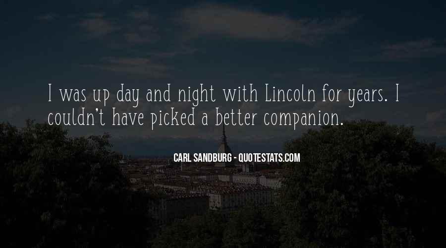 Quotes About Carl Sandburg #347472