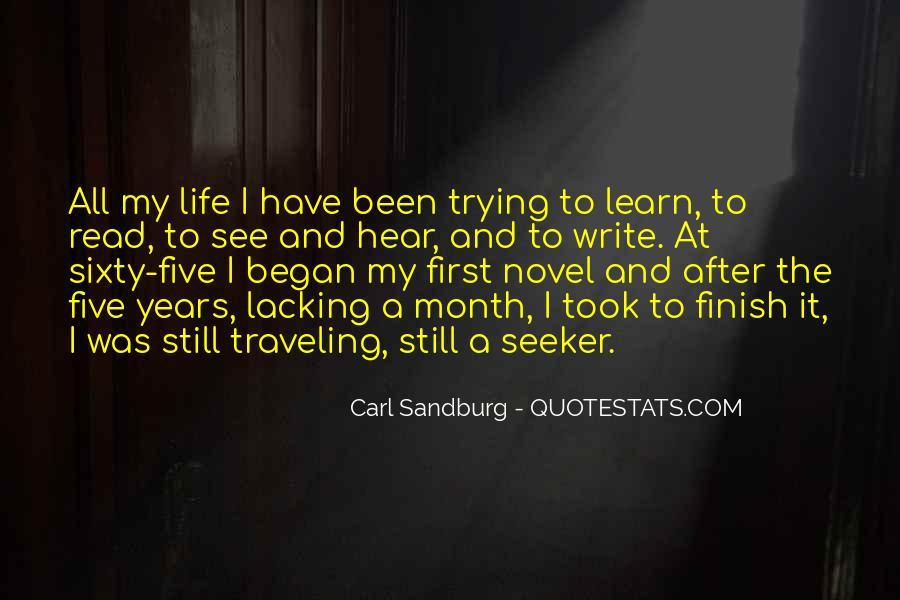 Quotes About Carl Sandburg #356939